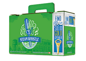 Steam Whistle Suitcase 12-Pack