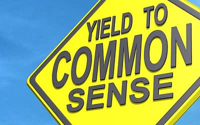 Common Sense: It's not as common as you think!