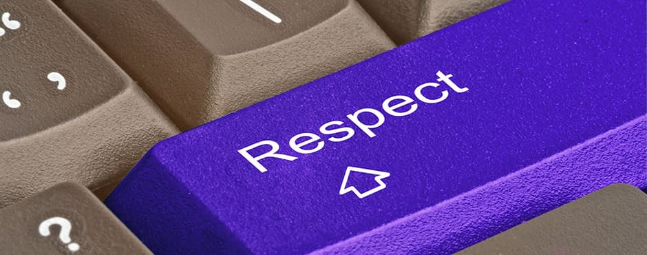 Social Respect: Achieving it. Earning it.