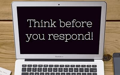 Tread Carefully! Your Social Media responses are content too!